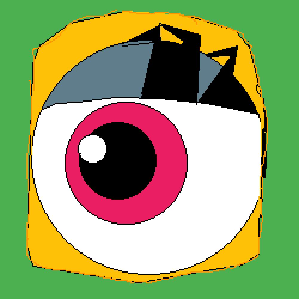 Happy frog eye unshaded by PLZU840