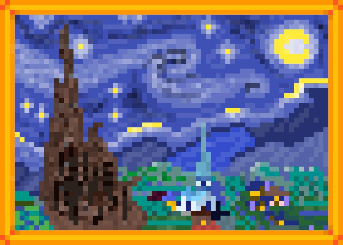 The Starry Night by floofcorgis64