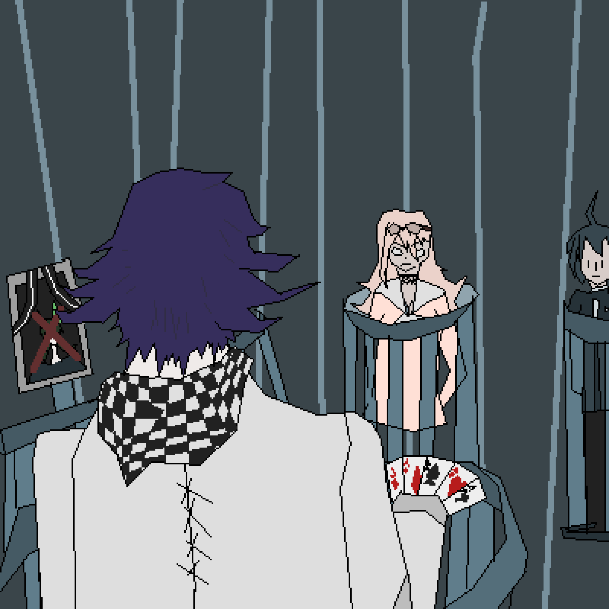 Kokichi has the aces