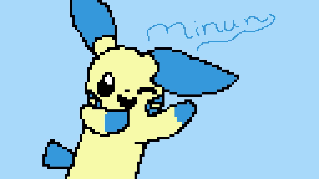 main-image-Minun ( Pokemon )  by Fast-Boi-UwU