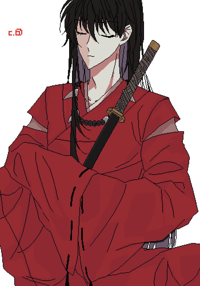Human Inuyasha by shadanimo