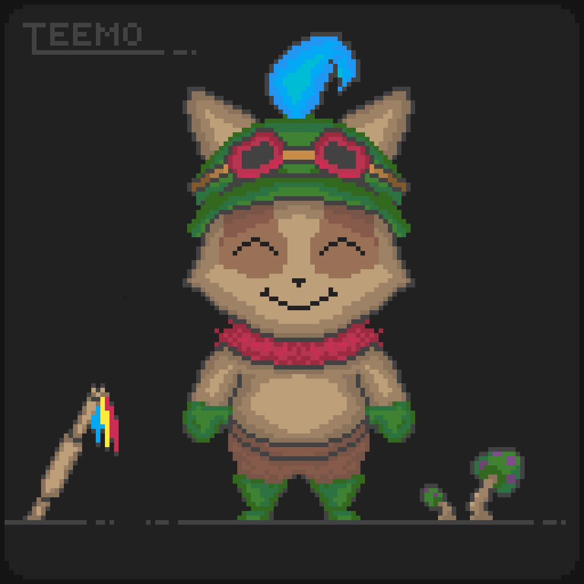 Teemo by Zombo-Joe