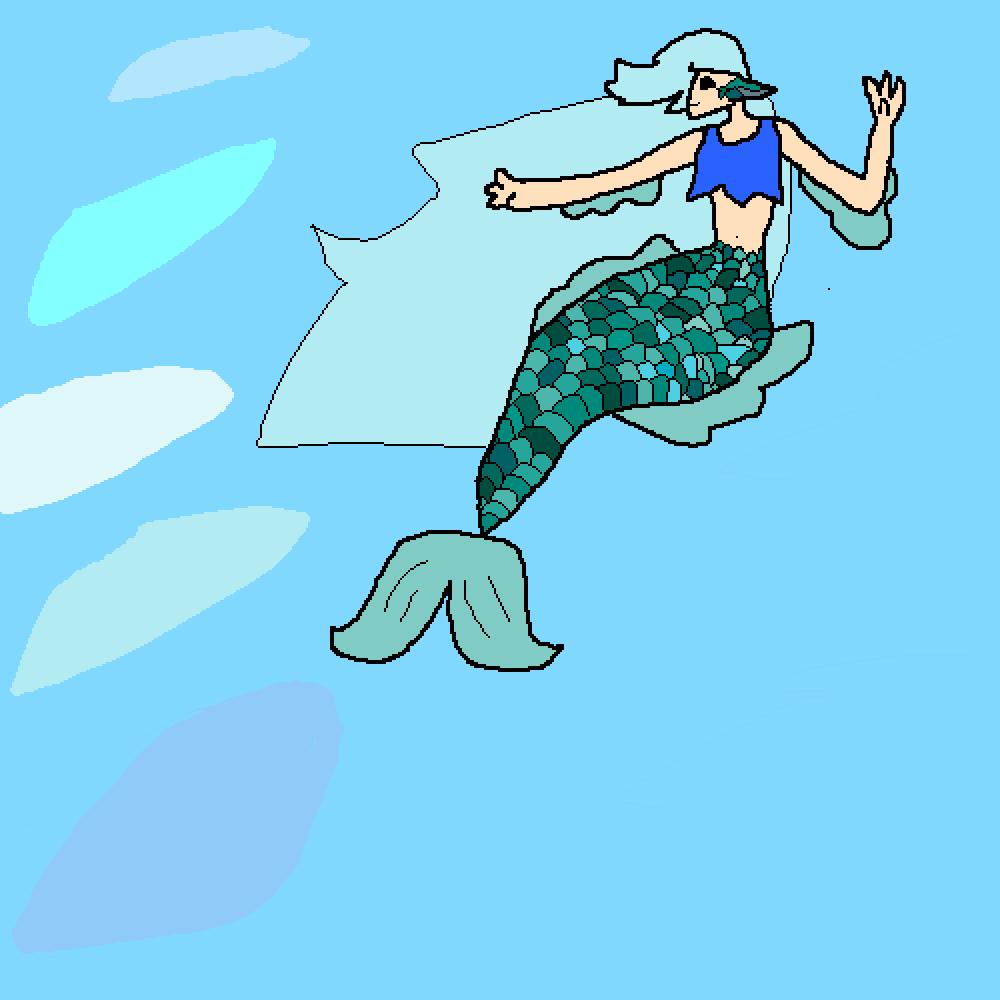 mermaid by Deltoro
