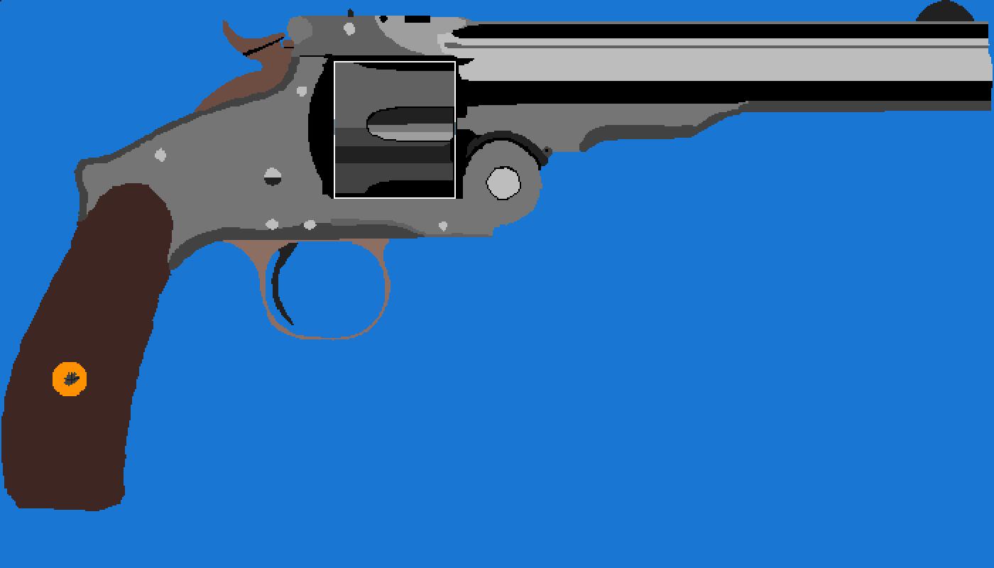 revolver by Cw-flash