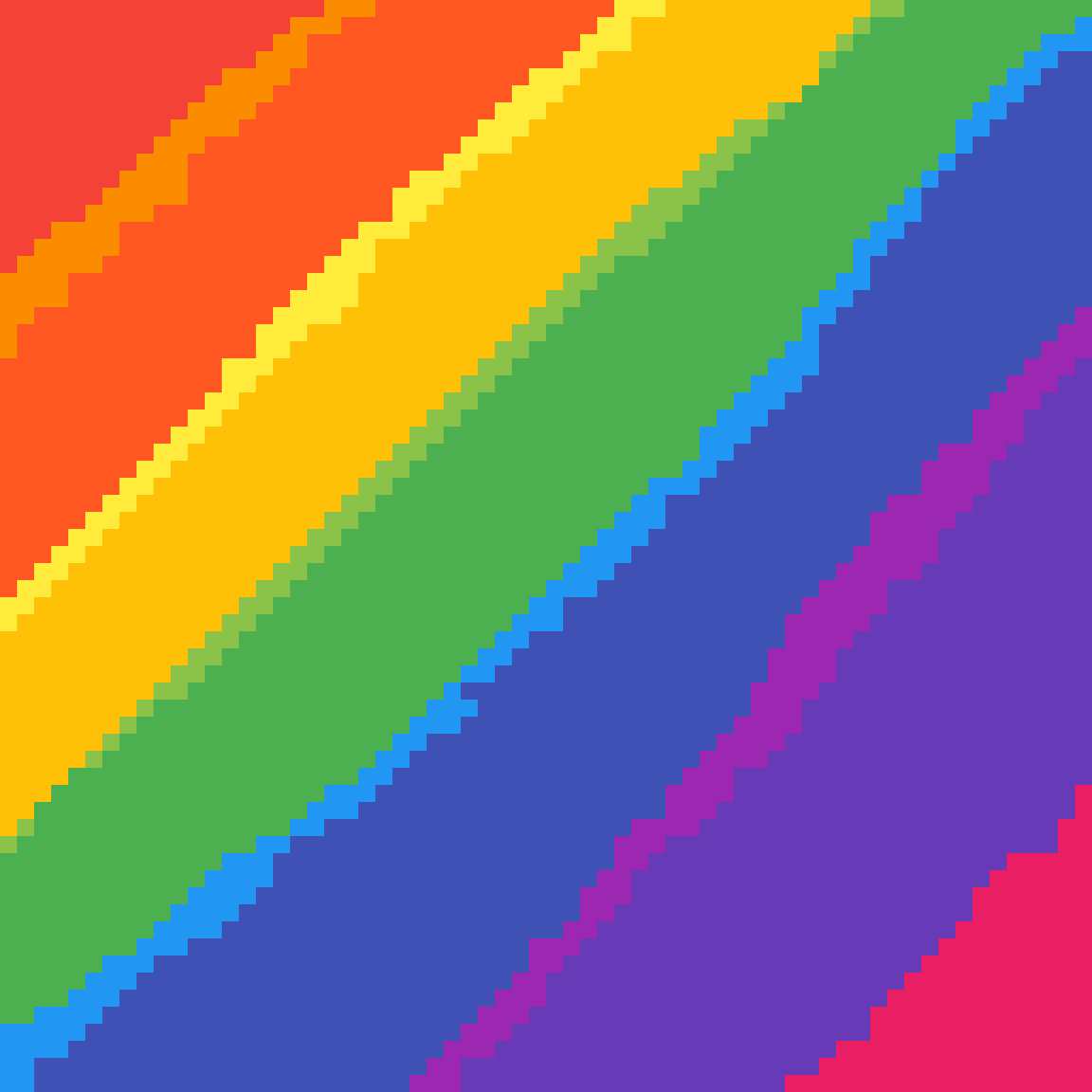 Rainbow blast by Bongo