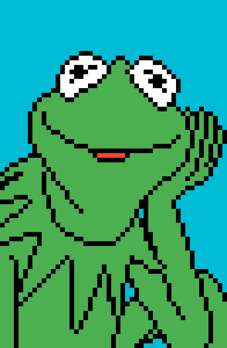 Pixilart Kermit By Redpanda