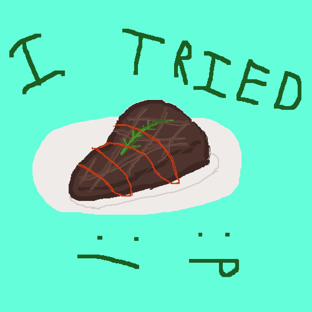 steak by That8-BitDude
