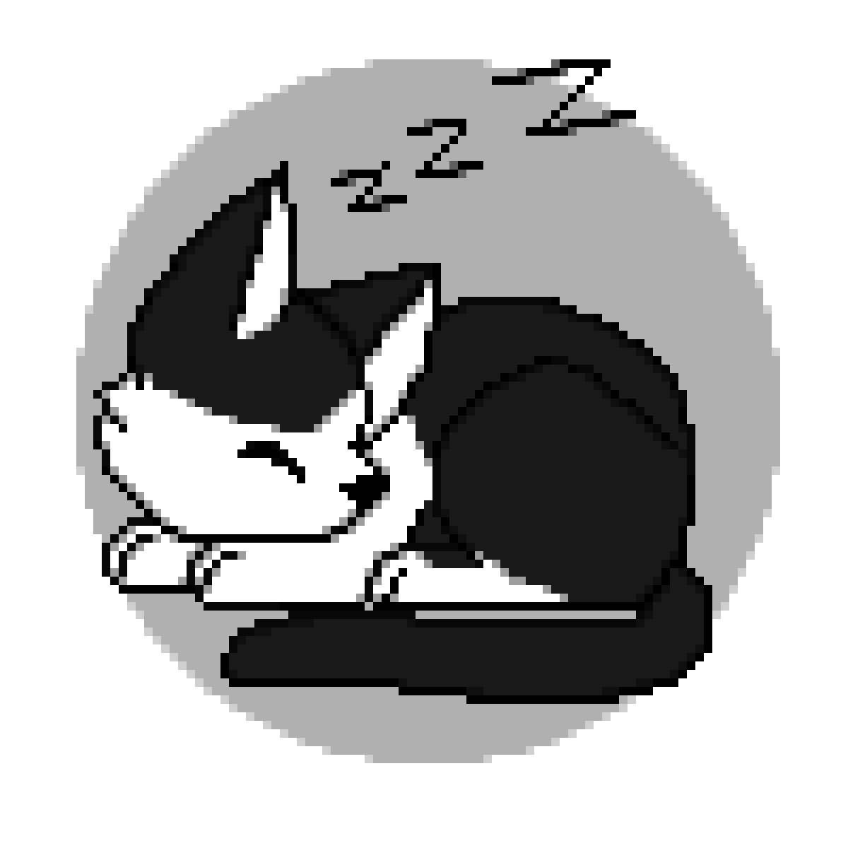 Small Cat Sleeping by GalacticRaven
