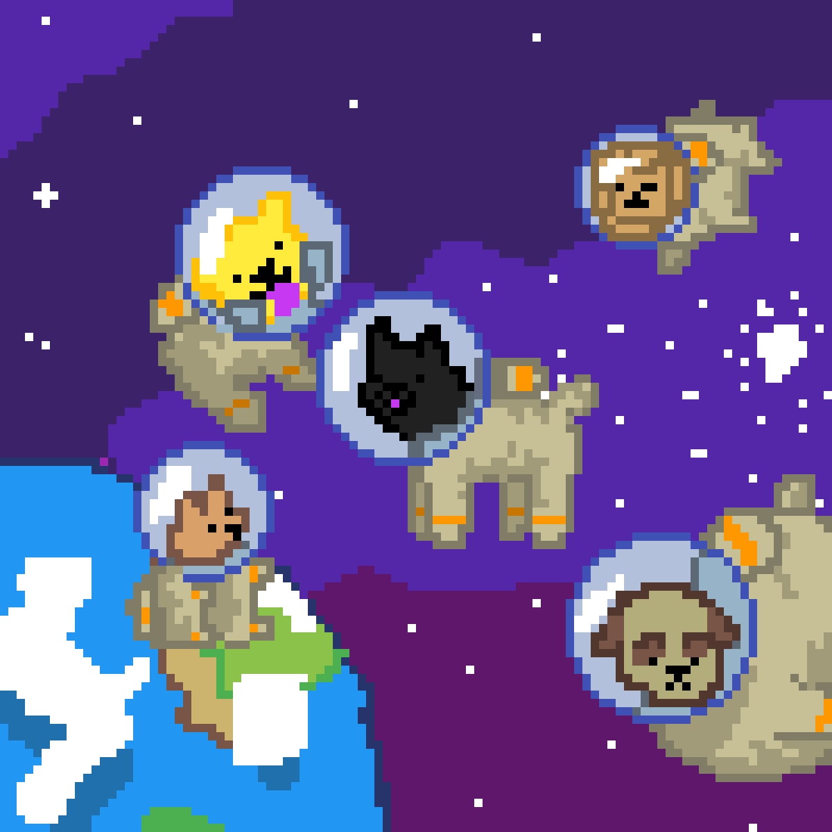 Astrodogs by The-Frizzler