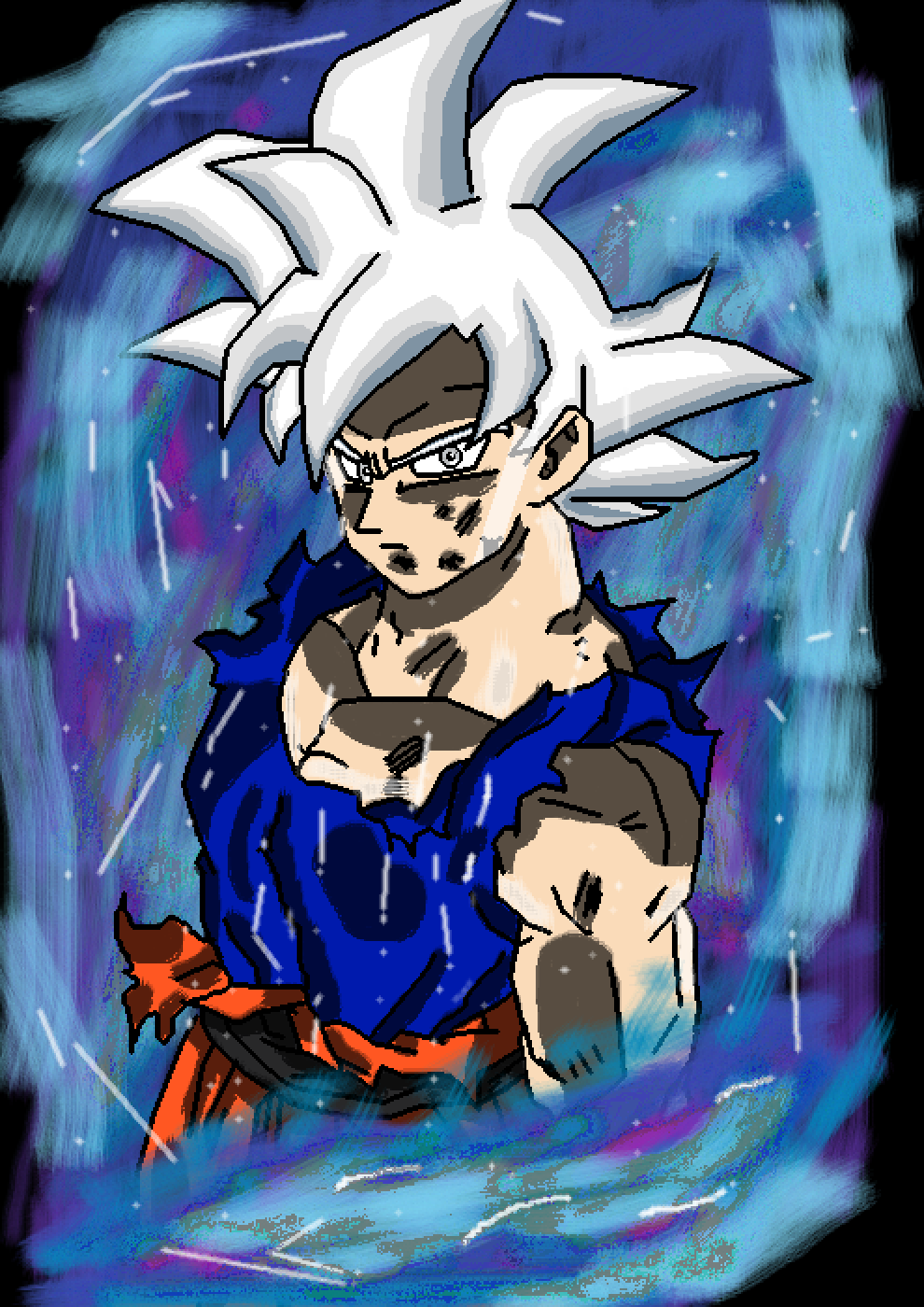 Mastered Ultra Instinct Goku (Migatte No Goku'i) by Ripper