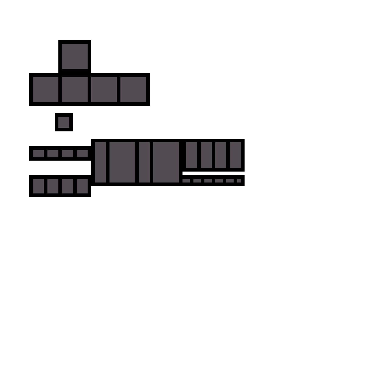 Minecraft Armor Blank Template