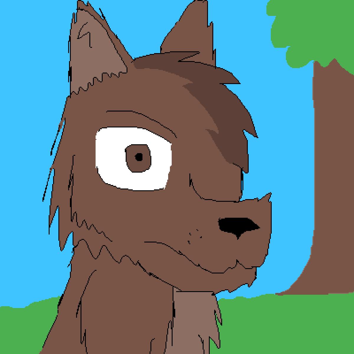 main-image-Bruno the brown wolf  by Sammygamer