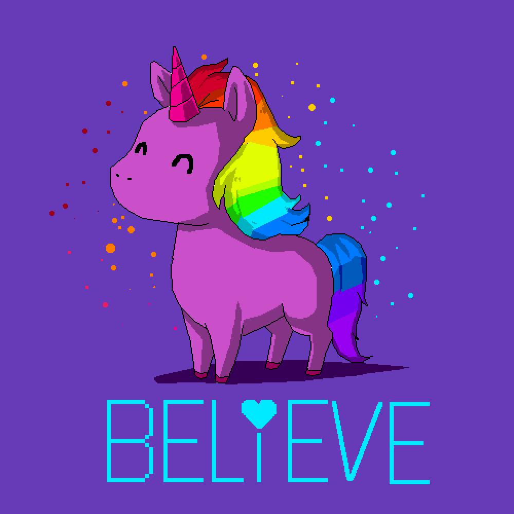 Unicorn - Believe  by pringlez