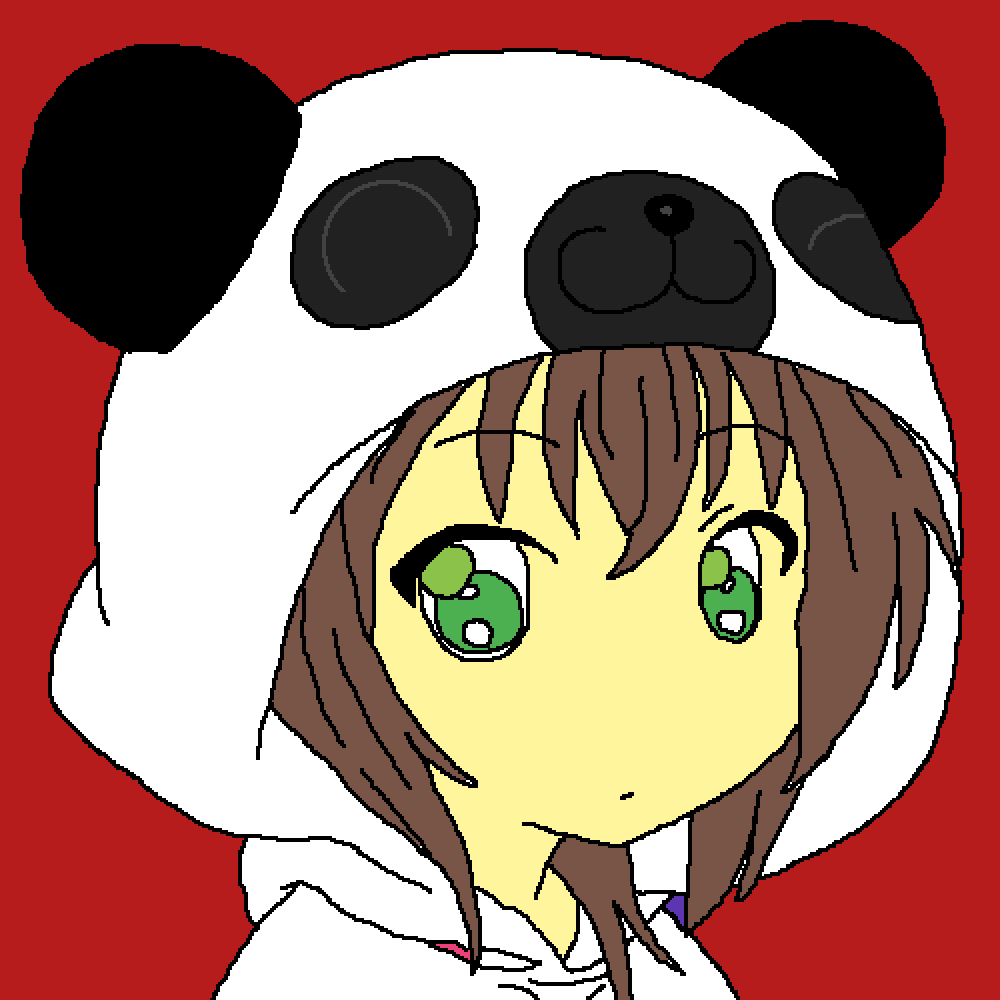 Me as a panda by aphman