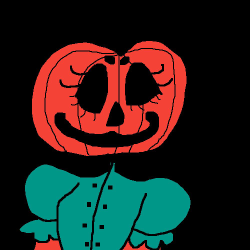 Pumpkin Gal by mistyrainbow101