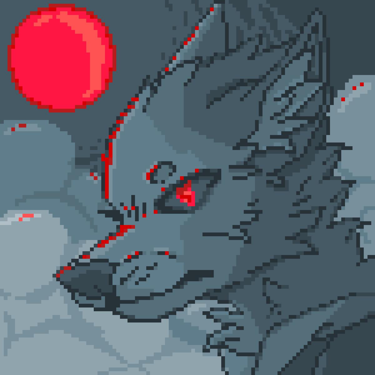 Blood Moon by SpiritShiba