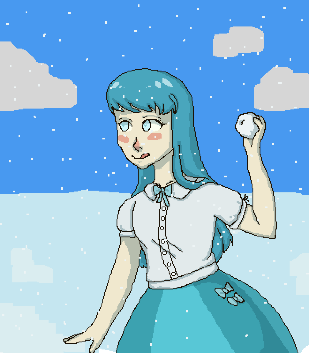 Oc - Ice girl by lajllatar37