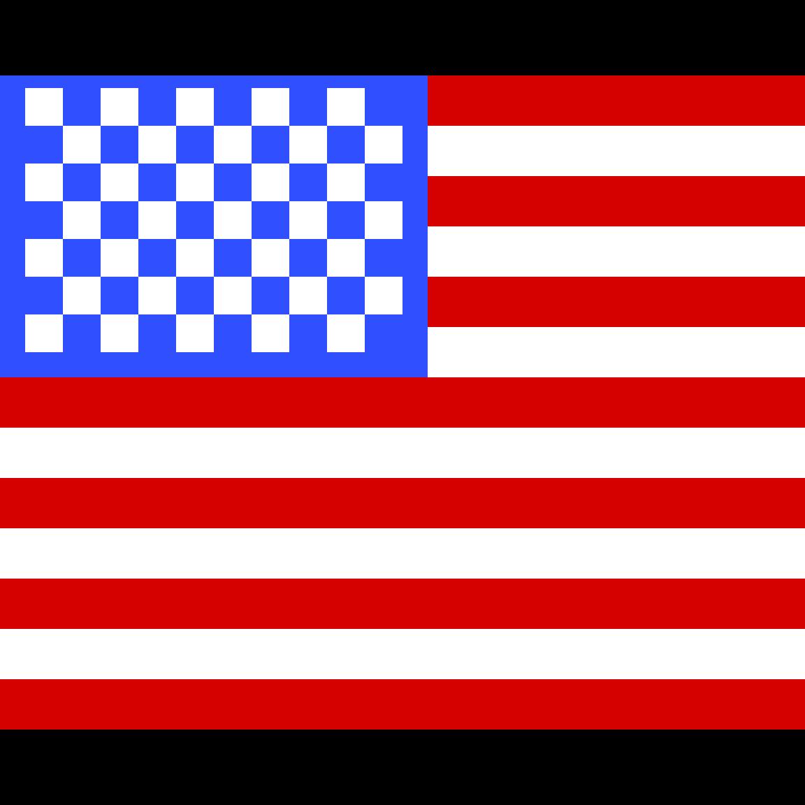 USA Flag by HamiltonFan1757
