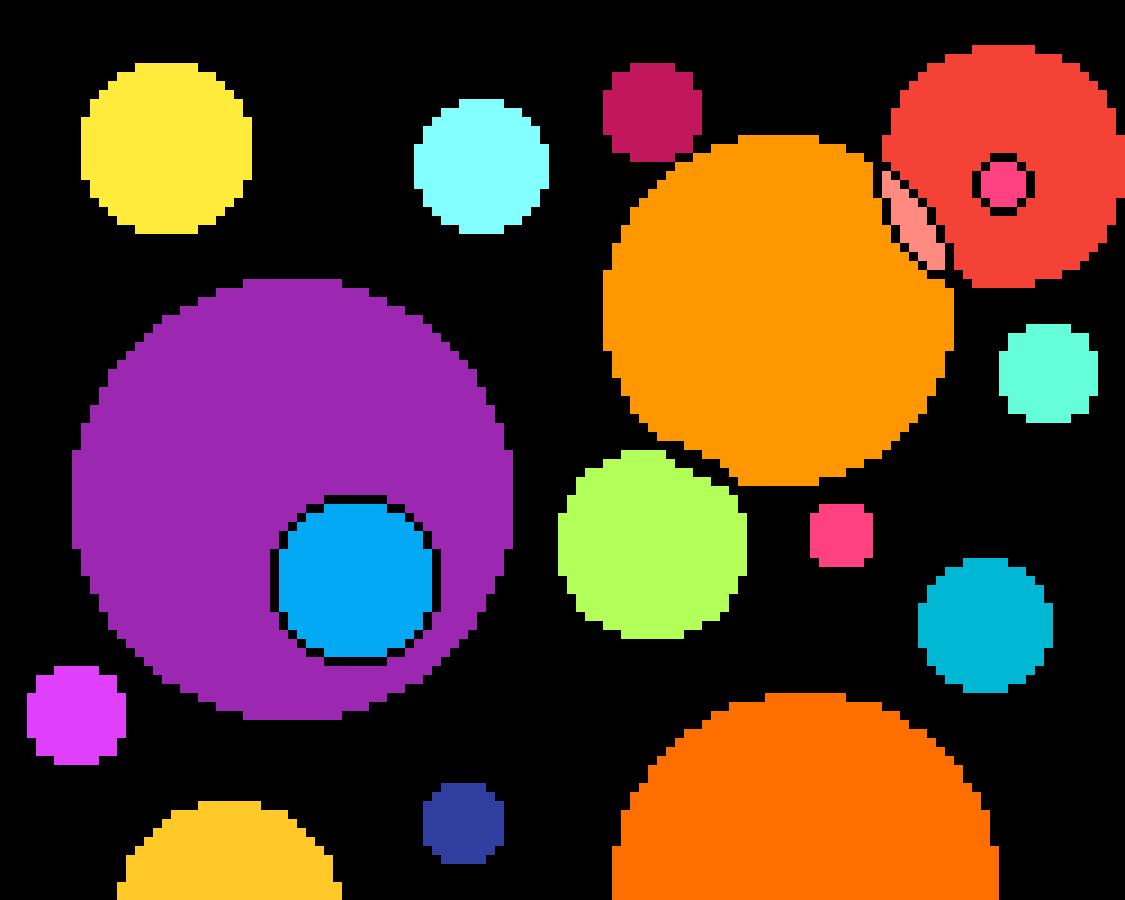 Circles colored