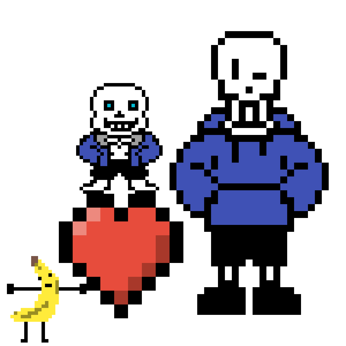 SANS and PAPAYRUS!!!!!! by Datboi348834