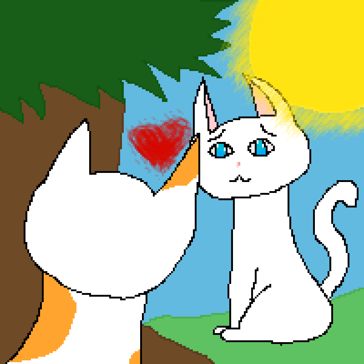 Cloudtail x Brightheart