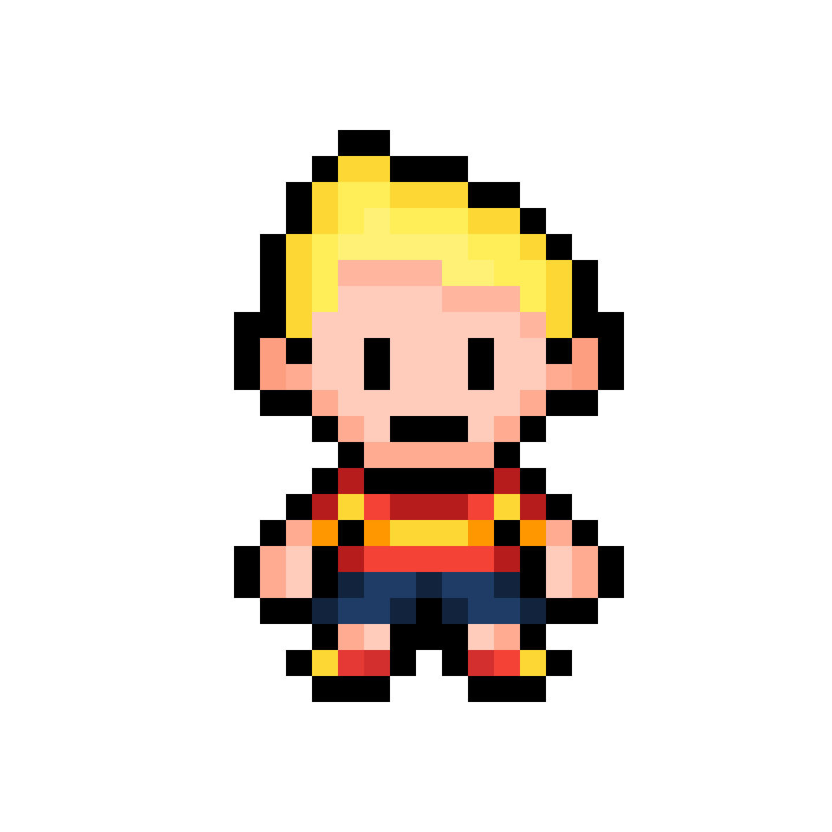 Pixilart - Mother 3: Lucas GBA remastered by Benji64