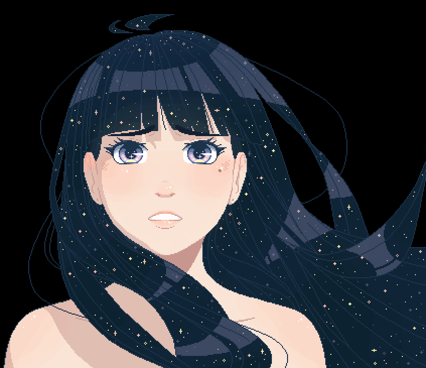 main-image-She Held The Galaxies  by Kido