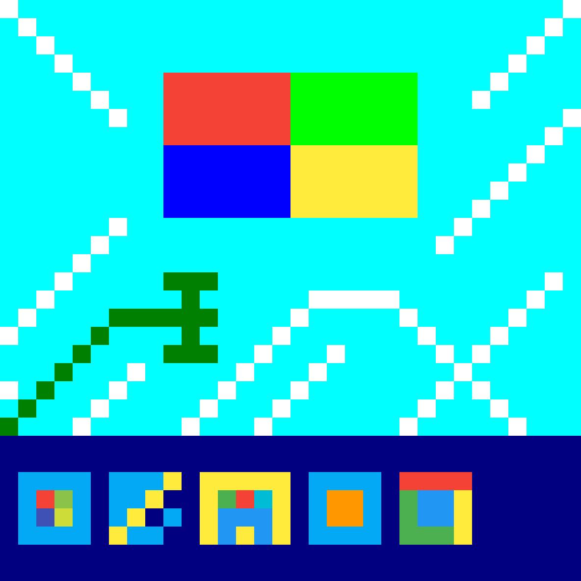 Pixilart Windows 7 Home Basic Pixel Art By Henrytrc
