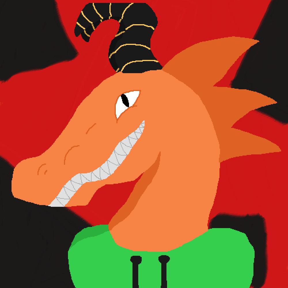 Dragon  by Pixil-Potato