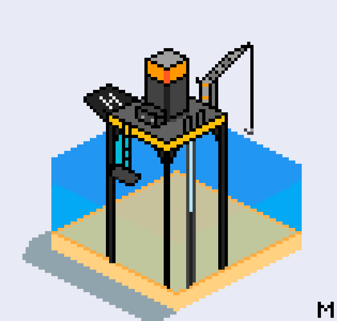 Isometric Oil Rig by Muffinz