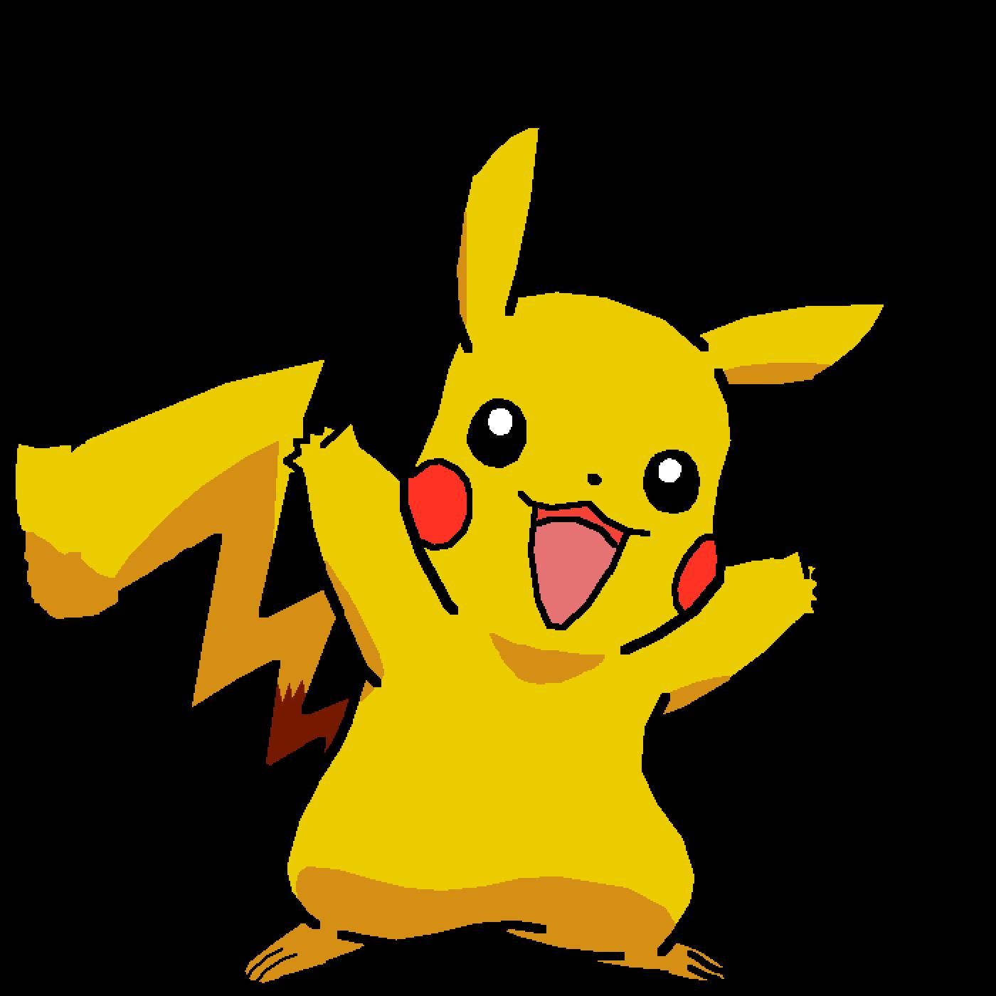 pikachu by oceanraptor