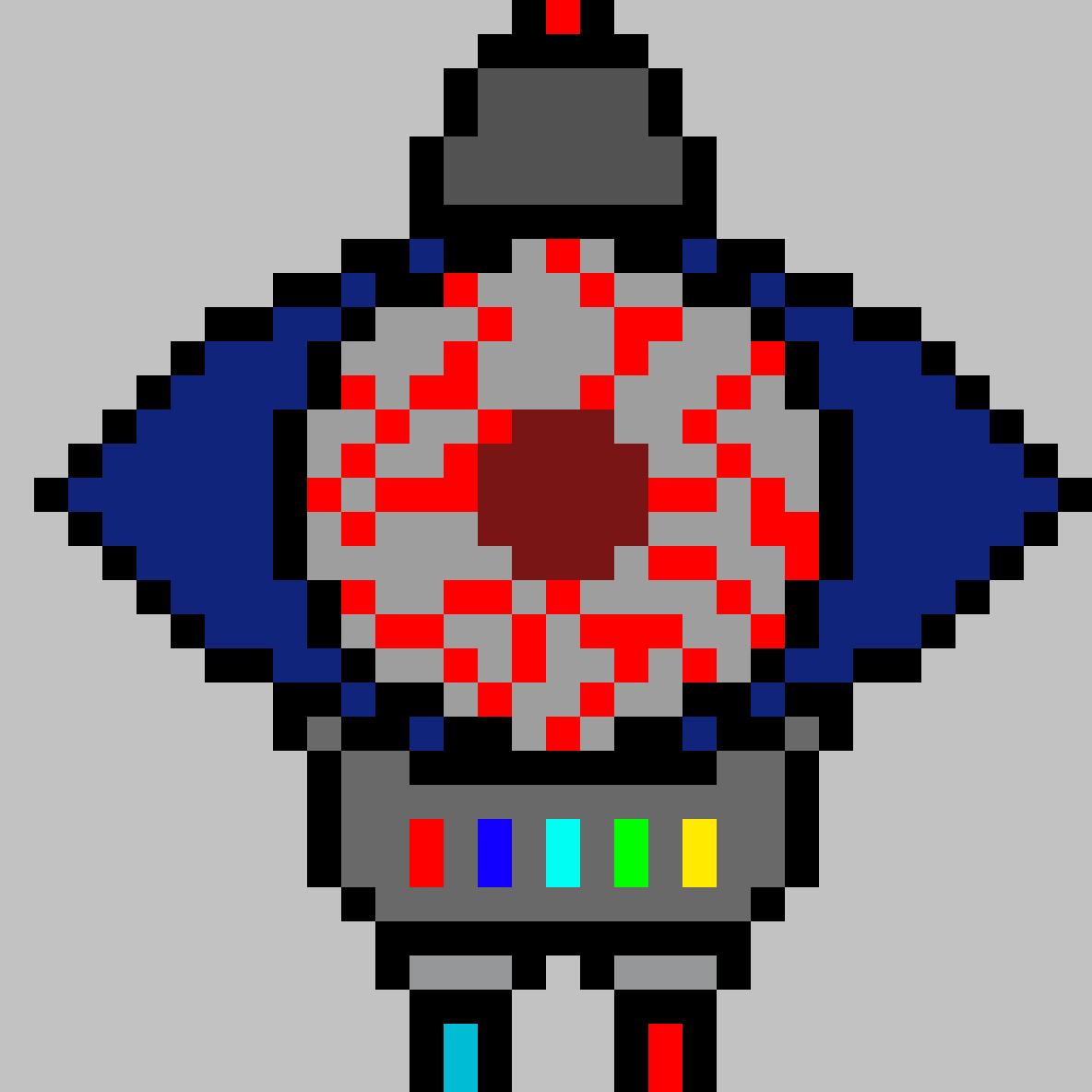 Robotic eye by aragon789