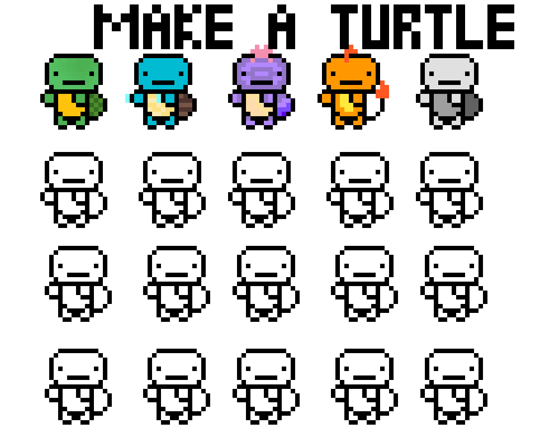 Make a turtle! by KayPotato5