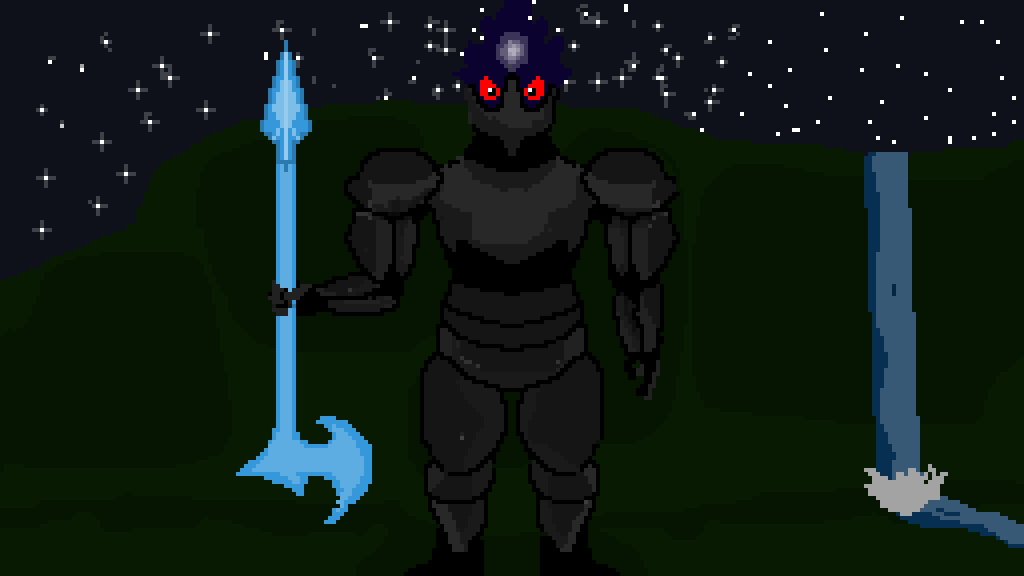 The Shadow Knight #imback by estbaconlord