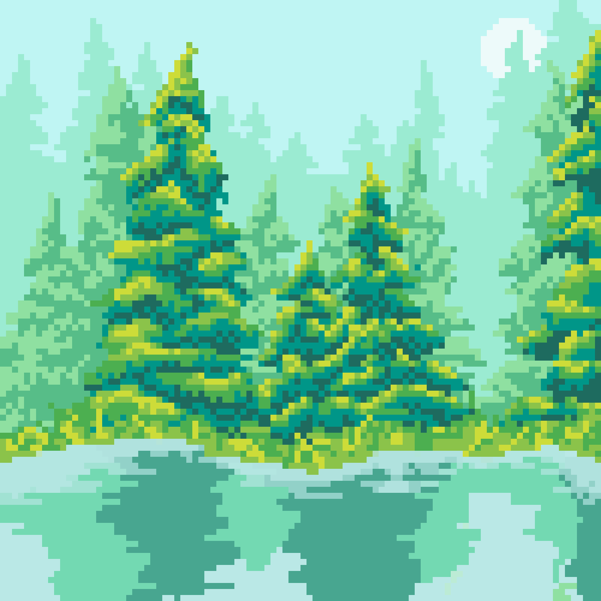 main-image-Happy Trees  by 8-bit-adventure