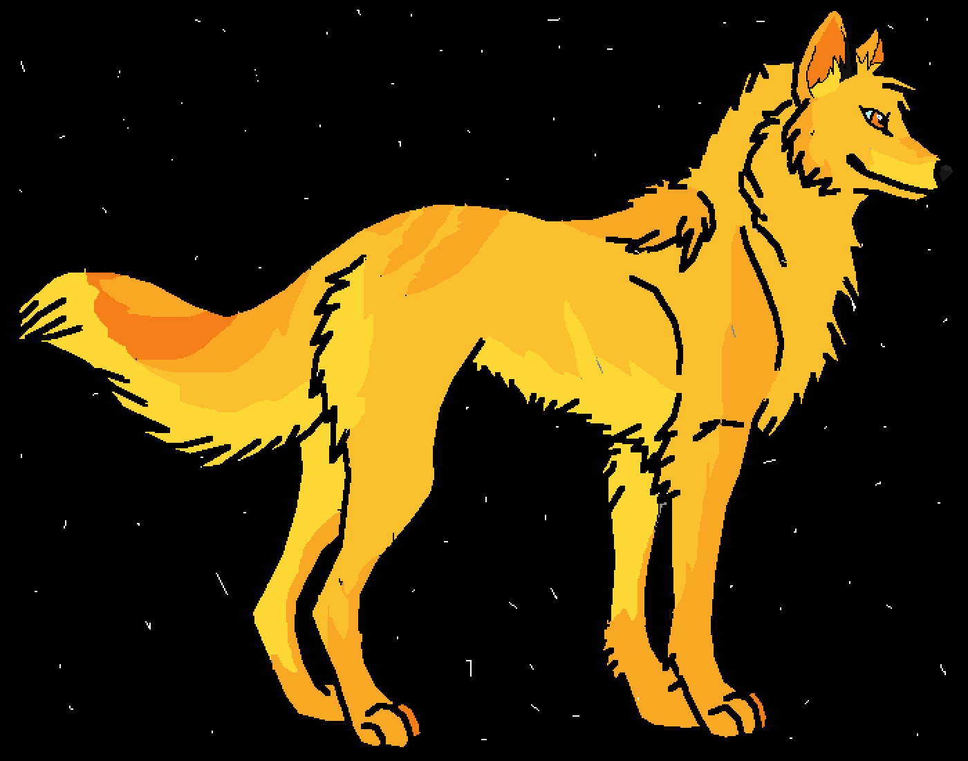 Golden Getriever by DrawingMaster