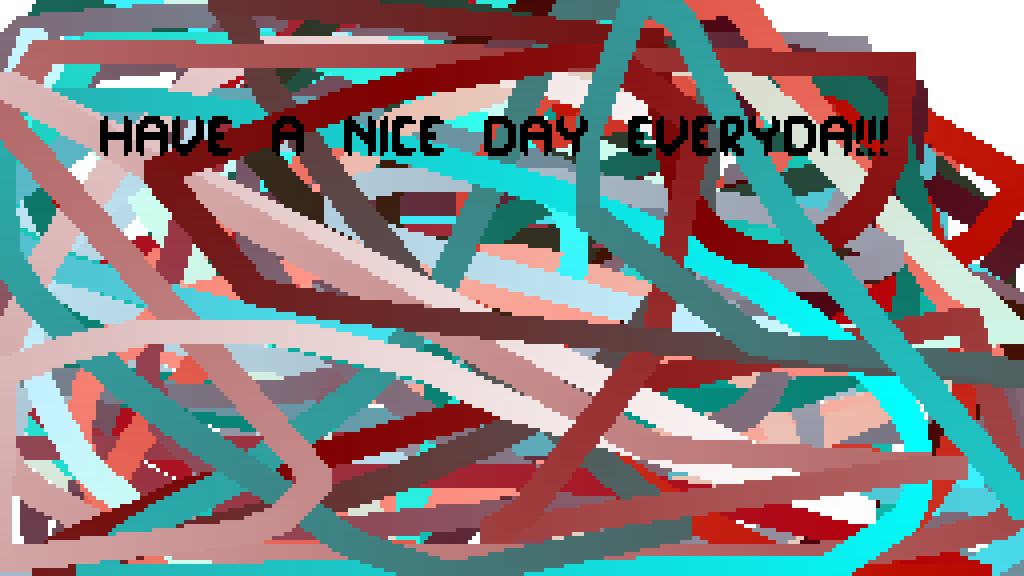 rainbow wall type things u want to say to people by XLanimegamer