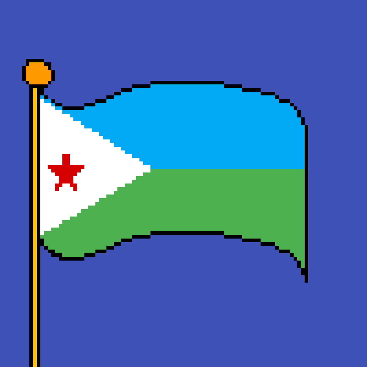 main-image-The flag of Djibouti  by poison-darts317