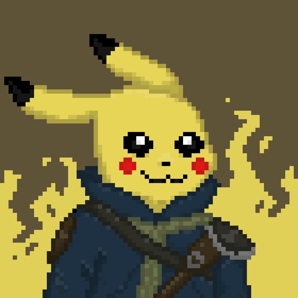 fallout pikachu by Yucker