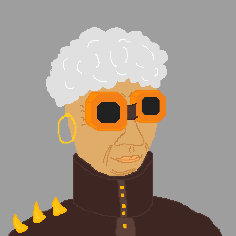Steampunk Granny by Indiana