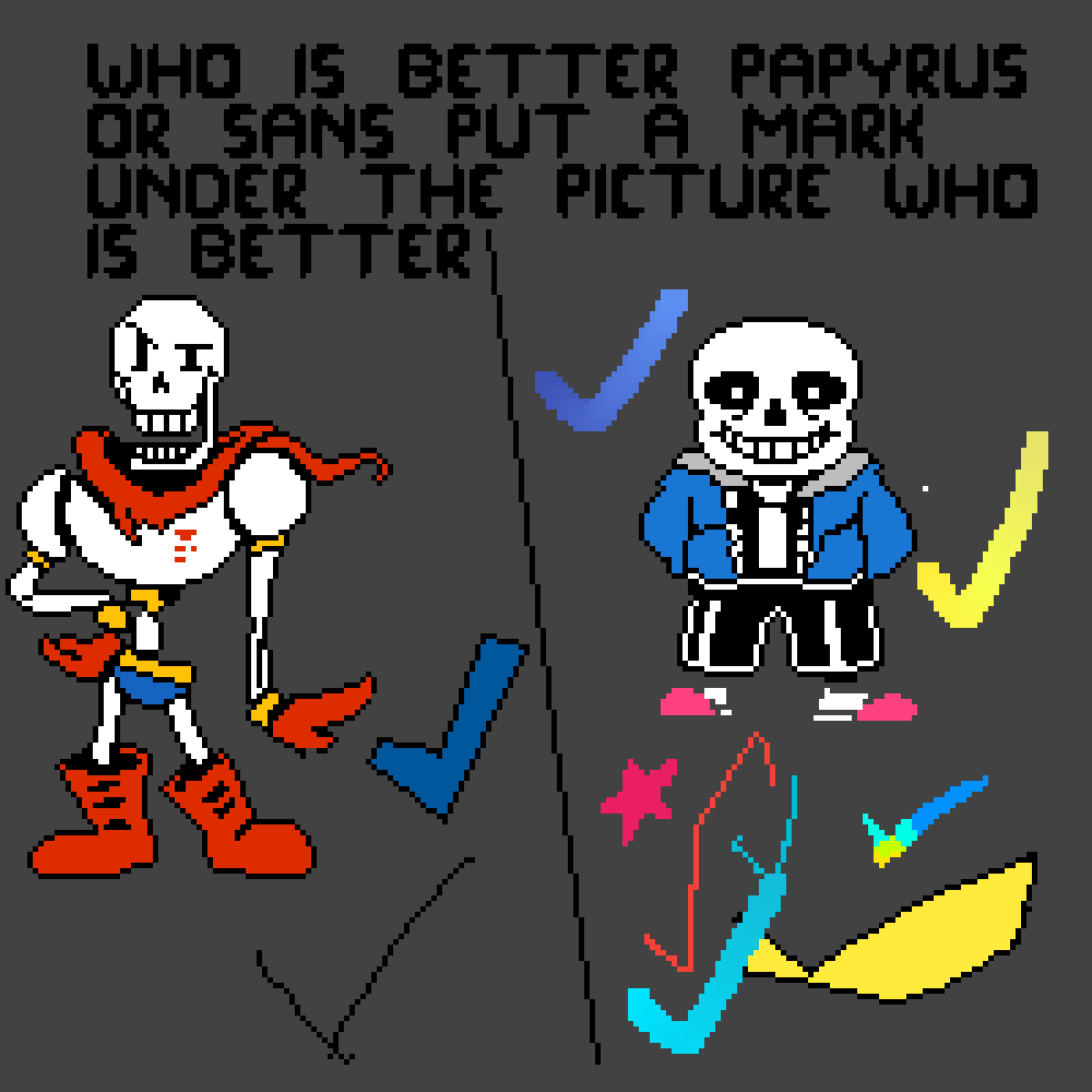 PAPY IS BEST FIGHT ME- by TrivoteGoLucky