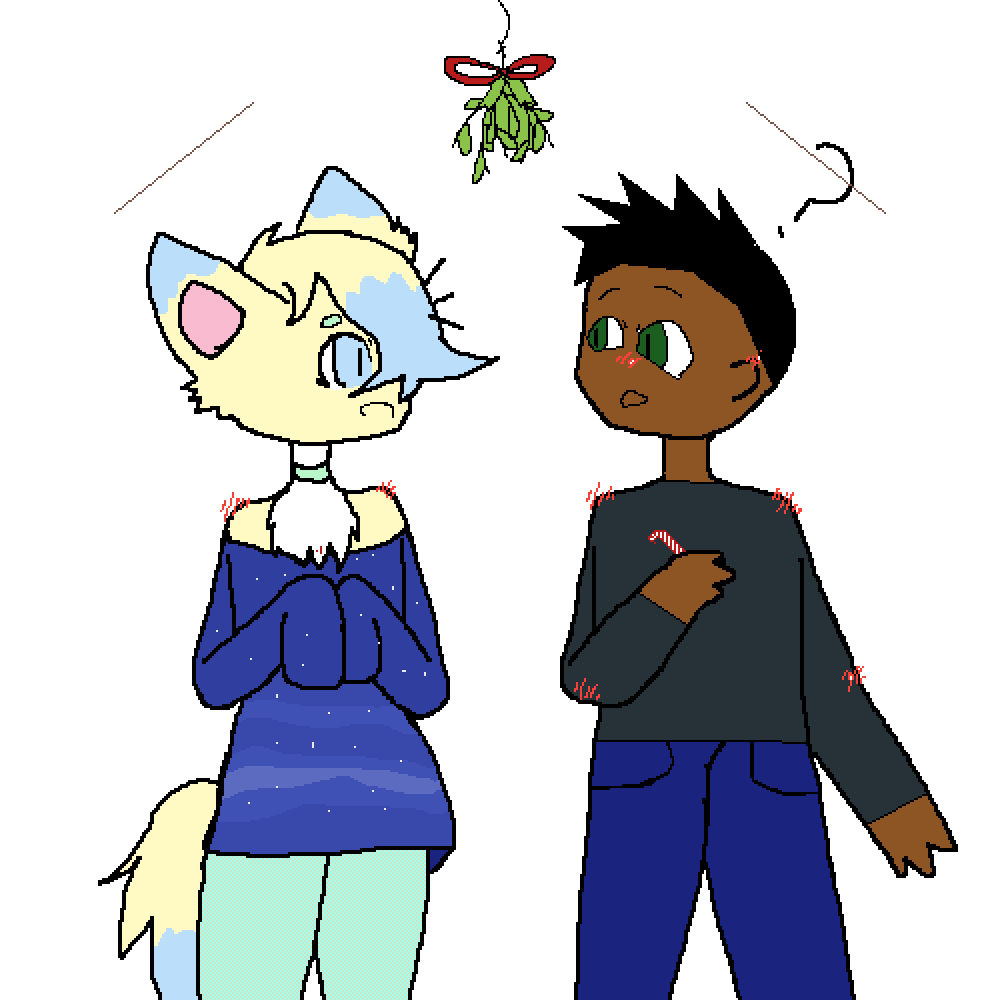 Christmas love by MegaBossPixel23