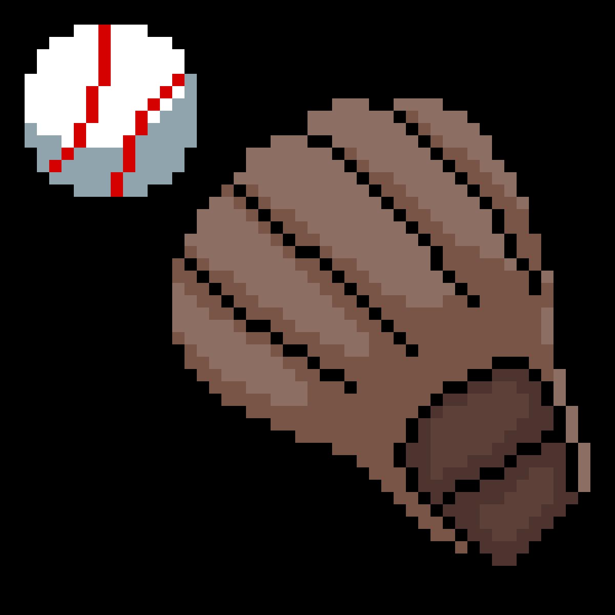 Baseball and Glove by OG0609