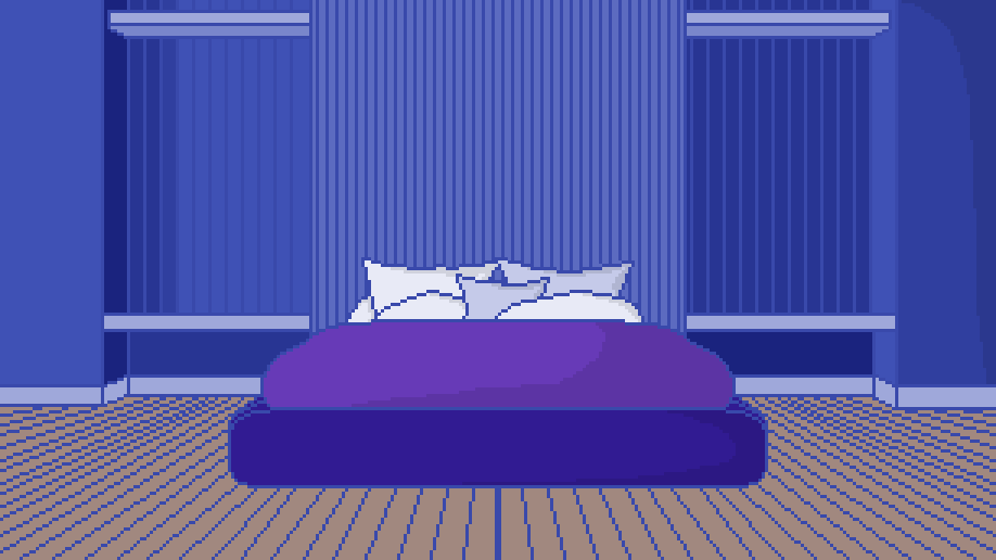 wip bedroom with slight shading by Hmusqe