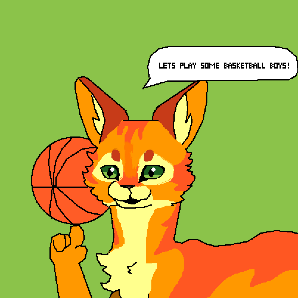 Firestar plays basketball?! by The-Frizzler