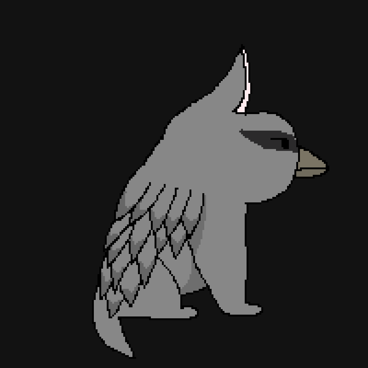 Jayfeather (literally) by MysticB3akui