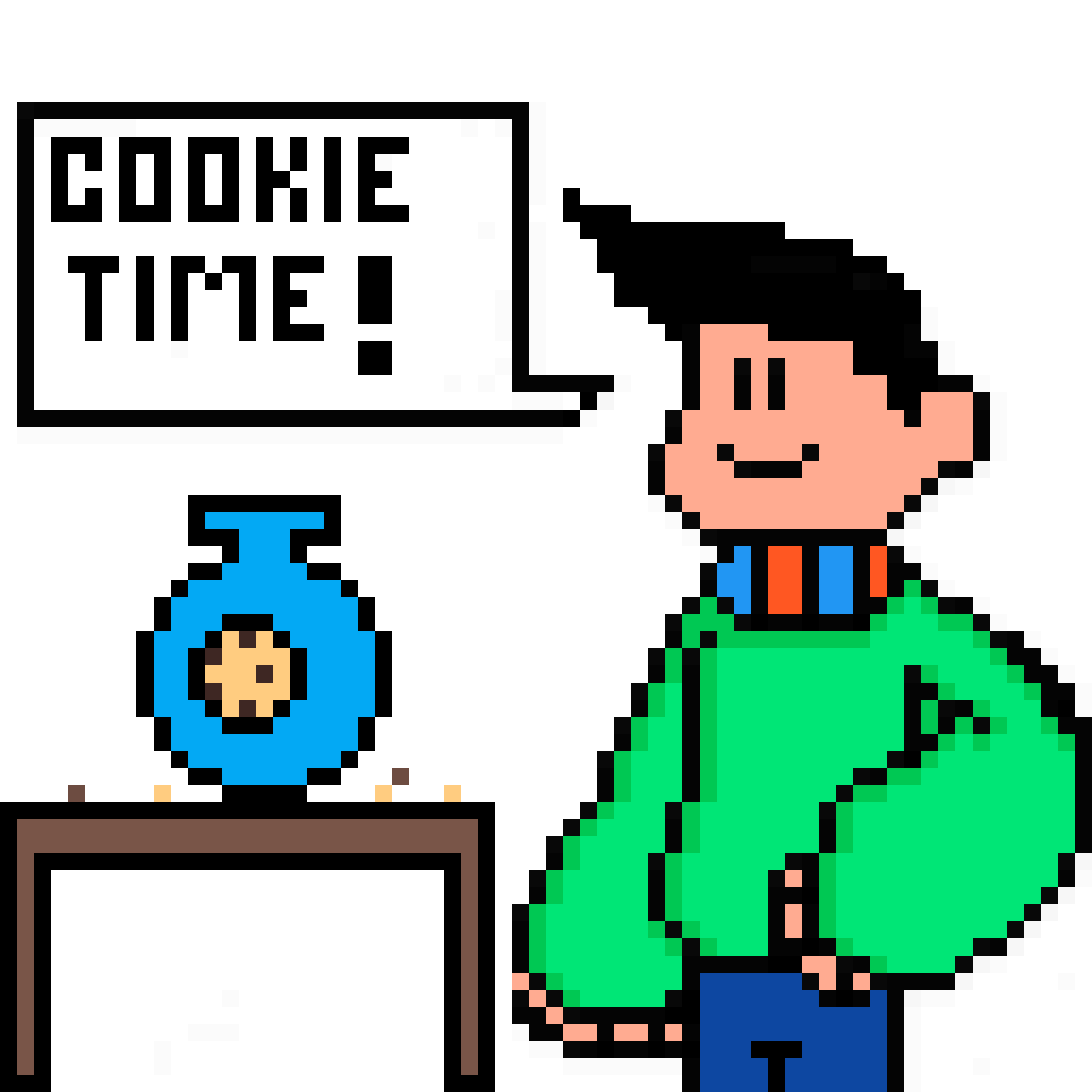 Anyone Want a Pixel Cookie? by Cryptinite