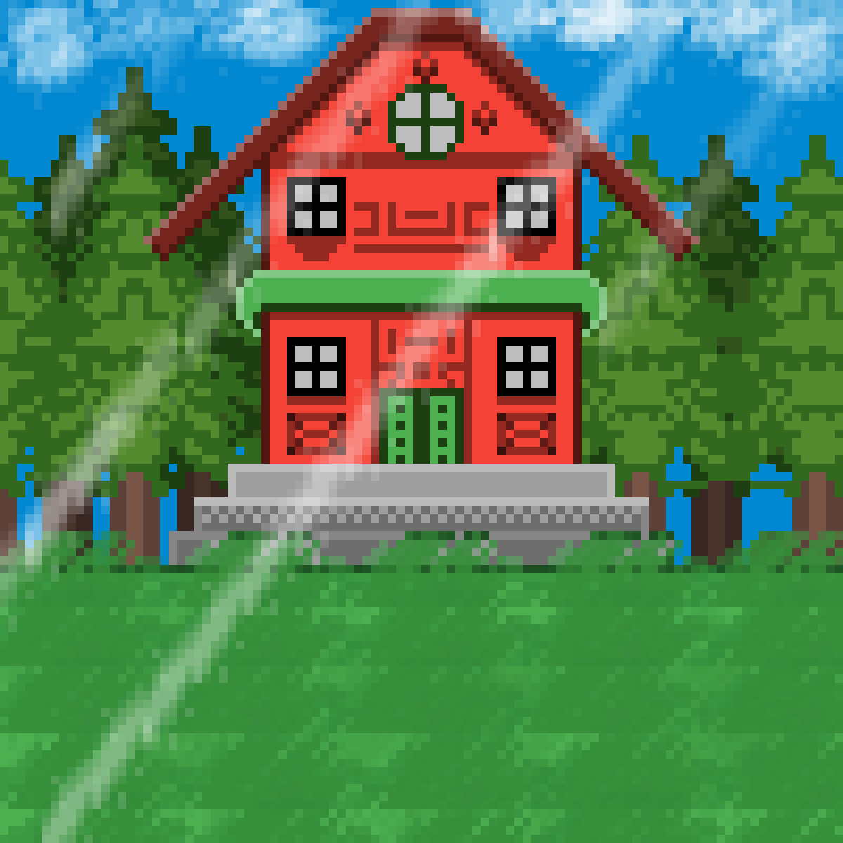 main-image-Red House  by KOMBATENT