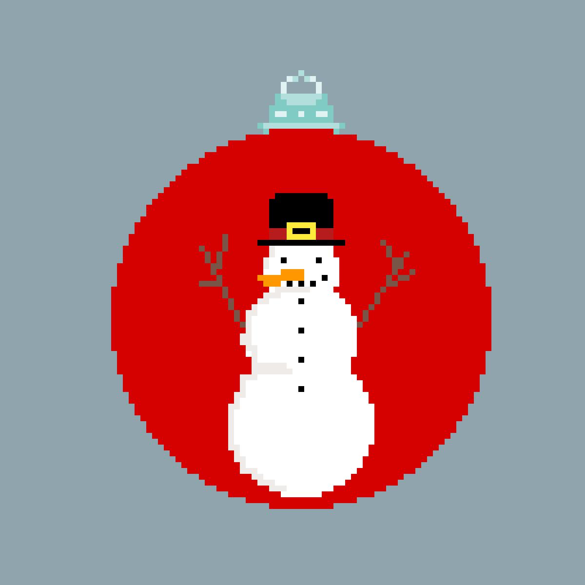 snowman  by ClemLovesArt
