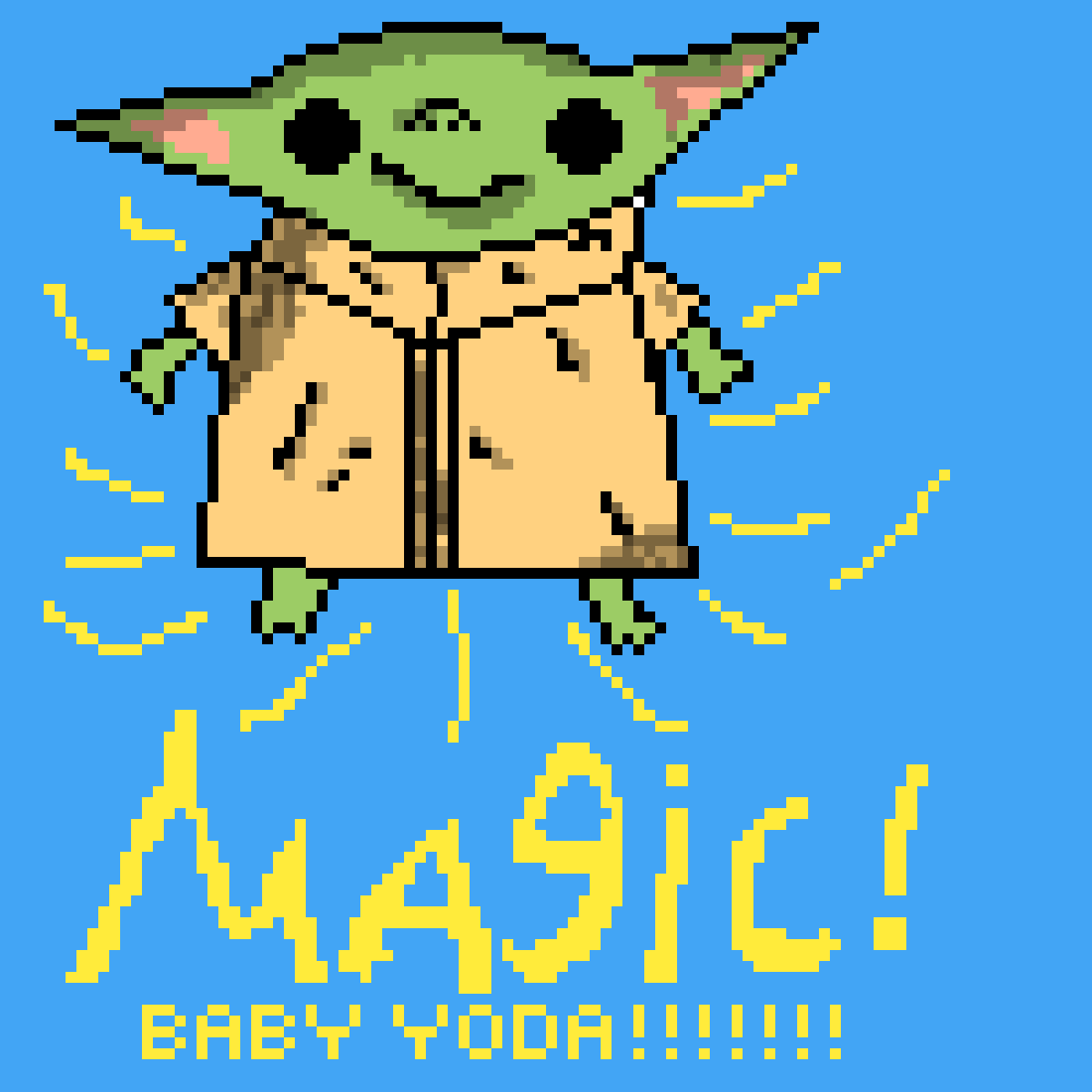 baby yoda for hinesy
